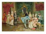 The Reception Giclee Print by Arturo Ricci