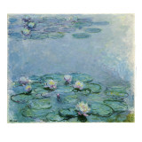 Water Lilies Giclee Print by Claude Monet