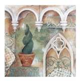 An Italian Garden Print by Patrizia Moro