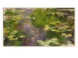 Les Nymphéas Reproduction procédé giclée par Claude Monet