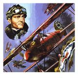 The Red Baron Giclee Print by Wilf Hardy