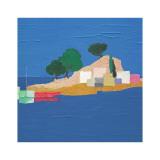 Aegean Seaside IV Poster von Marko Viridis