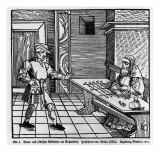 Money Lender, 1531 Giclée-tryk af  German School