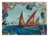Bon Voyage, 1929 Gicléetryck av Dora Carrington