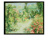 The Conservatory Giclee Print by Pierre-Auguste Renoir