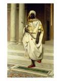 The Emir Giclée-tryk af Ludwig Deutsch
