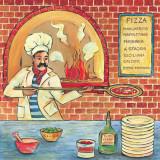 Bella Pizza II Prints by L. Morales