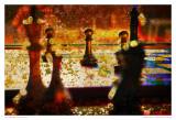 Abstract Chess I Kunstdrucke von Jean-François Dupuis