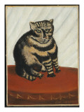 The Tabby Giclee Print by Henri Emilien Rousseau