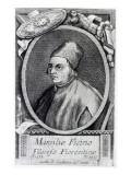 Marsilio Ficino Giclée-tryk af  Italian School