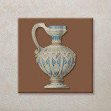 Vintage Tea-Pots Print by E. Kruger