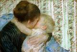 A Goodnight Hug Reproduction procédé giclée par Mary Cassatt