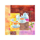 Tea for Two Kunstdrucke von Don Valenti