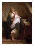 The Orphans, 1884 Giclee Print by George Elgar Hicks