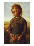 Fisher Girl, 1874 Giclee Print by Ilya Efimovich Repin