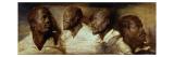 Vier Negerköpfe Giclée-Druck von Sir Anthony Van Dyck