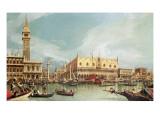 The Molo, Venice Impressão giclée por  Canaletto