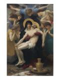 Pieta, 1876 Reproduction procédé giclée par William Adolphe Bouguereau