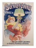 Poster Advertising 'saxoleine', Safety Lamp Oil, 1901 Impressão giclée por Jules Chéret