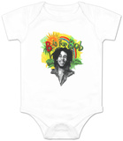 Infant: Bob Marley - Rainbow Bodysuit Body para bebê