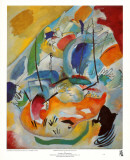 Improvisation31 (Bataillenavale),1913 Affiches par Wassily Kandinsky