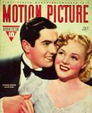 Alice Faye - Motion Picture Magazine Cover 1930's Masterprint