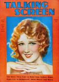 Anita Page - Talking Screen Magazine Cover 1930's Masterprint