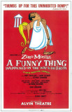 A Funny Thing Happened on the Way to the Forum - Broadway Poster , 1962 Masterprint