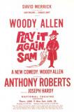 Play It Again Sam - Broadway Poster , 1969 Masterprint