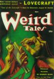 Weird Tales - Pulp Poster, 1933 Lámina maestra