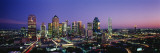 Night, Dallas, Texas, USA Wallstickers af Panoramic Images,