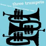 Tre trumpeter Wallstickers