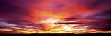 Sunset, Canyon De Chelly, Arizona, USA Veggoverføringsbilde av Panoramic Images,