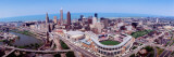 Aerial View of Jacobs Field, Cleveland, Ohio, USA Decalcomania da muro