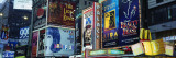 Billboards on Buildings in a City, Times Square, New York City, New York State, USA Decalcomania da muro di Panoramic Images,