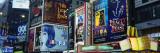 Billboards on Buildings in a City, Times Square, New York City, New York State, USA Seinätarra tekijänä Panoramic Images,