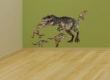 Profilo T-Rex (sticker murale) Decalcomania da muro