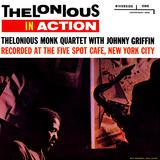 Thelonious Monk, Thelonious in Action Decalcomania da muro di Paul Bacon