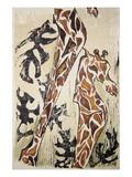 Giraffes Wall Decal by Norma Kramer