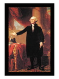George Washington Wall Decal by Gilbert Stuart