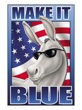Make It Blue the Mascot Decalcomania da muro di Kelly, Richard