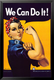 Rosie the Riveter, 1944 Posters tekijänä J. Howard Miller