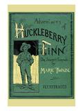 Adventures of Huckleberry Finn Decalcomania da muro