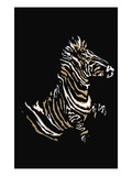 Zebra Wall Decal by Norma Kramer
