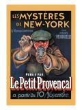 Les Mysteres de New York Wallstickers