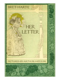 Her Letter Wall Decal by Arthur Keller