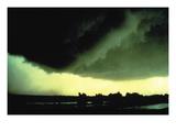 The Dimmitt Tornado Wall Decal by Harald Richter