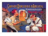 Grande Brasserie d'Arcueil Wallstickers af Eugene Oge