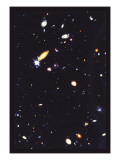 Hubble Deep Field Wandtattoo