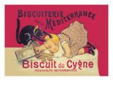 Biscuiterie de la Mediterranee Wallstickers af Eugene Oge